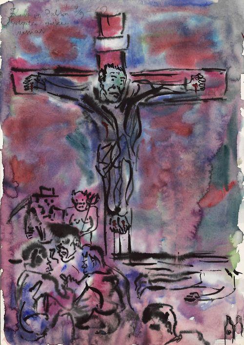 Golgatan viskin Messias