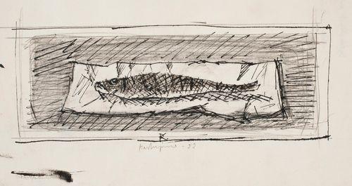 Kala paperin päällä