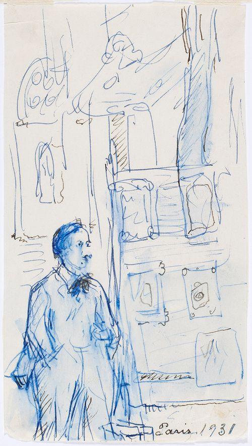 Taidenäyttely Montparnassella