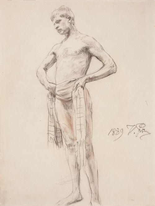 Nuori mies, luonnos maalaukseen Pyhä Nikolaus Lyykian Myrasta