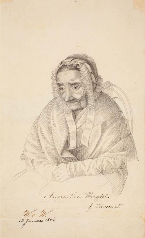 Anna Christina von Wright, taiteilijan isoäiti