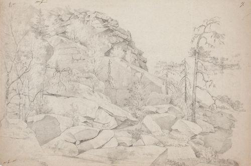 Kallioita Aavasaksalla