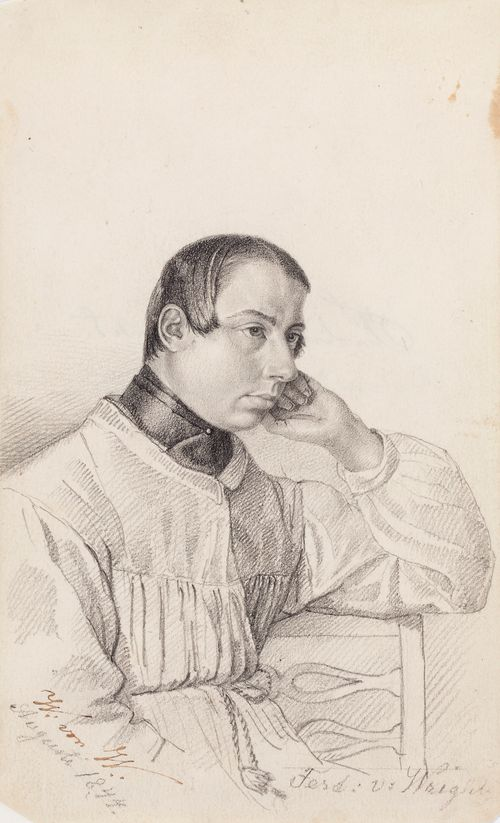 Ferdinand von Wright, taiteilijan veli