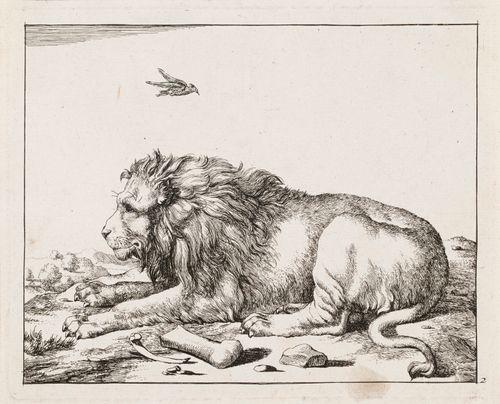 Makaava leijona ja lentävä lintu