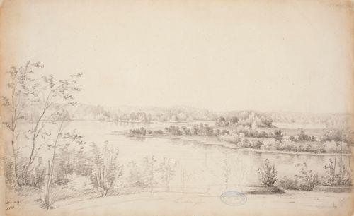 Landscape from Juustilanjärvi in Vyborg