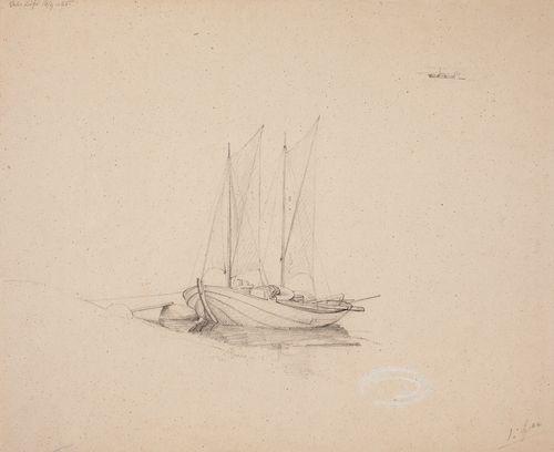 Storbåt vid Esbo Lövö