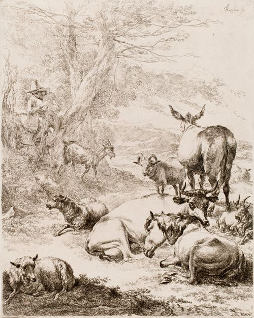 Lauma lepää (Le troupeau en repos)