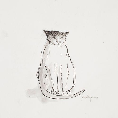Istuva kissa