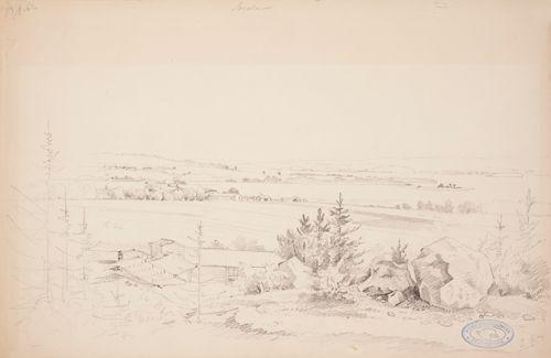 Landscape from Sorola in Kangasala
