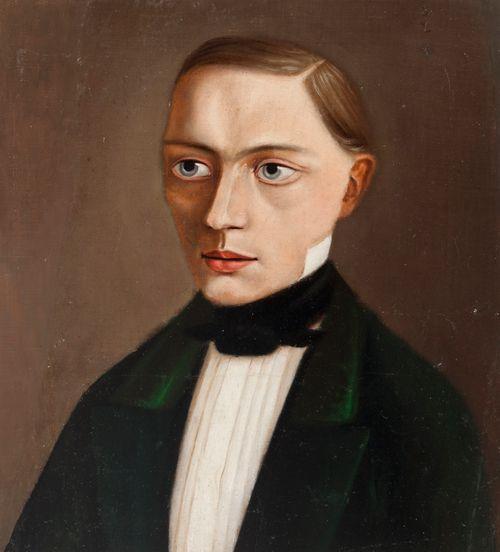 Frithiof Holmbergin muotokuva (?)