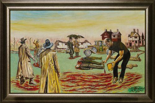 Amerikan punainen eli Jackson Pollock maalaa Amerikkaa uudella mantereella