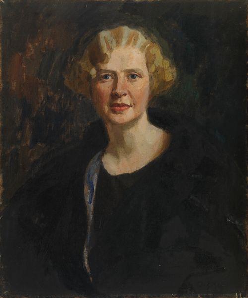 Ester Wegeliuksen os. Tawaststjernan muotokuva