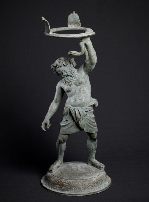 Silenius ja kolmijalka, antiikin teoksen kopio