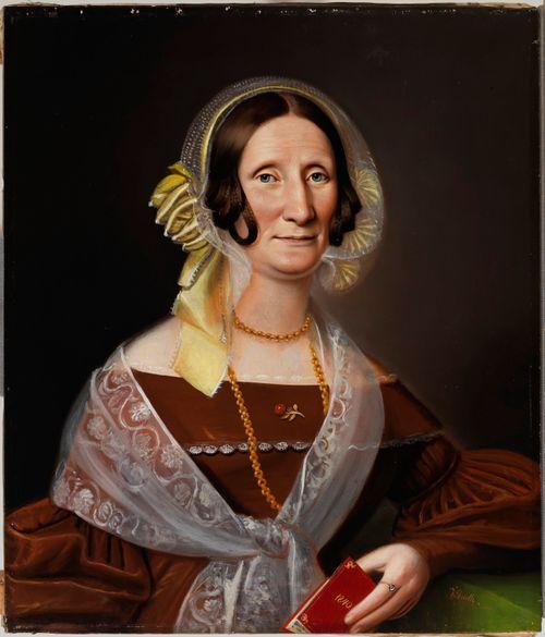 Kirjailija Sara Wacklinin muotokuva