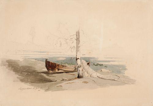 Vene ja rysä rannalla