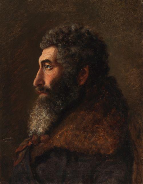 Juutalaismiehen muotokuva (Kiseleff hof, juden)