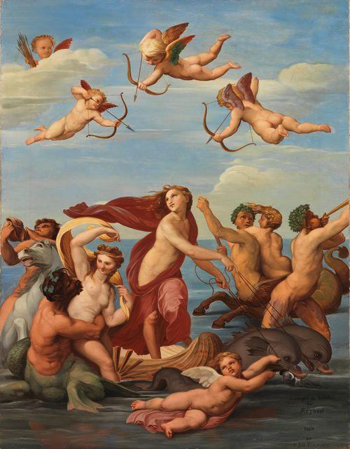 Galatean riemusaatto, kopio Rafaelin (Raffaello Sanzio) mukaan
