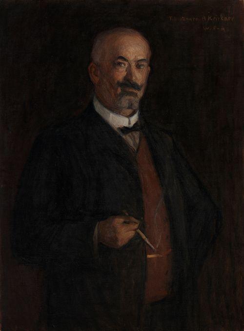 Tehtailija August Keirknerin muotokuva