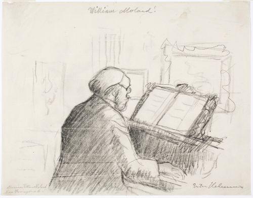 William Molard pianon ääressä