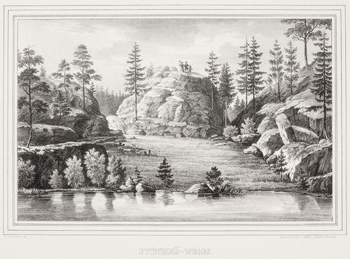 Pyynikkö-wuori, kuvitusta teokseen Finland framställdt i teckningar, vihkot XXIV-XXVII