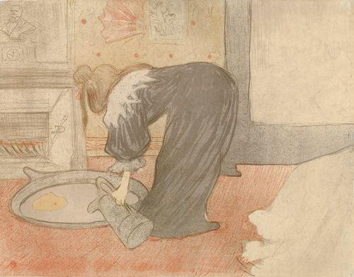 Femme au tub