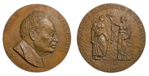 Ville Vallgrenin reliefimuotokuva