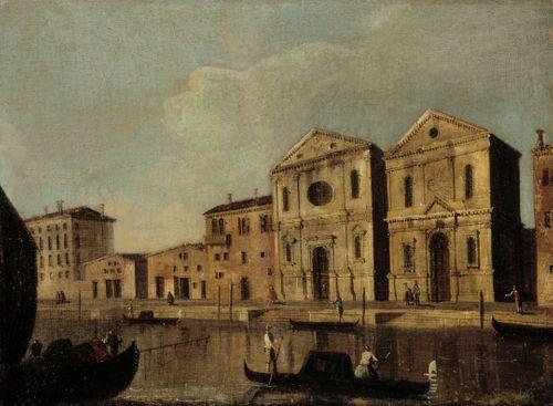 Venetsialainen kanavanäkymä