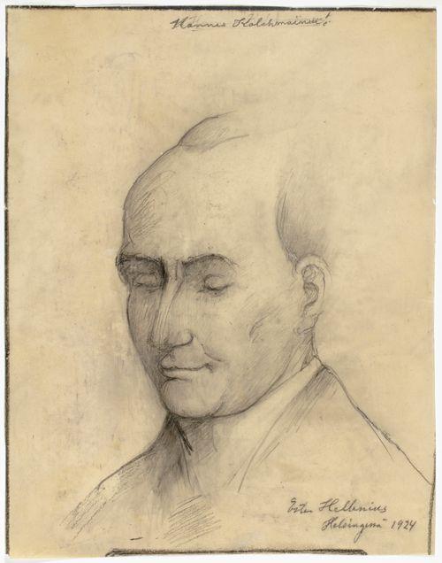 Hannes Kolehmaisen muotokuva