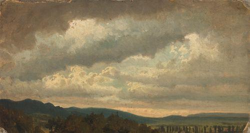 Pilvinen taivas, harjoitelma