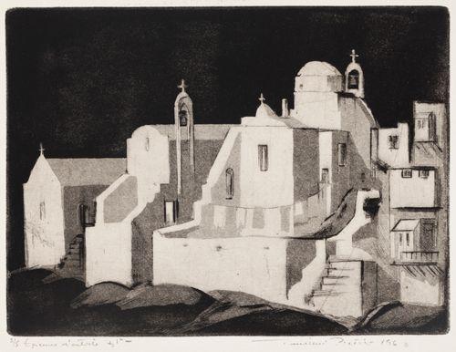 Kirkkoja Mykonoksella