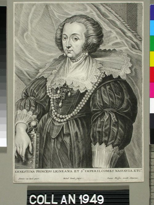 Ernestine, Nassaun kreivitär