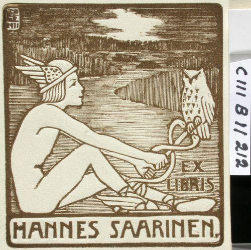 Hannes Saarisen exlibris