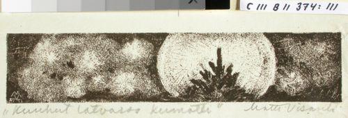 Kalevalan kuvitusta, X runon loppuvignetti
