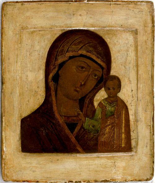 Kazanin Jumalanäiti, venäläinen ikoni