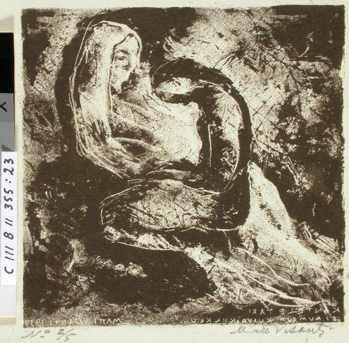 Kantelettaren kuvitusta (23) ; Kiven alla kieltäjäsi