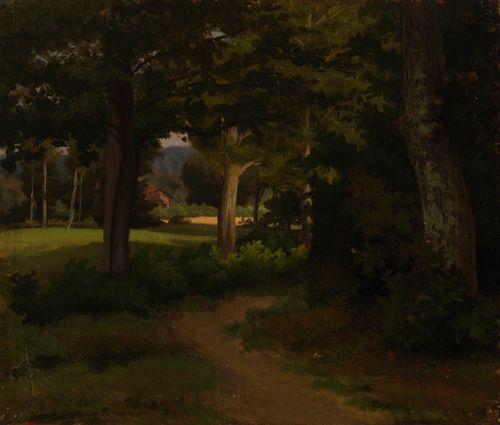 Metsäpolku, maisemaharjoitelma