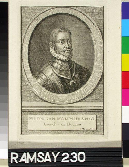 Filips van Mommeranci, Hoornen kreivi (1522-1568)