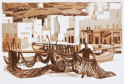 Mykonoksen kalastajia
