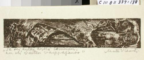 Kalevalan kuvitusta, XXXVII runon loppuvignetti