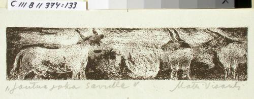 Kalevalan kuvitusta, XXXII runon loppuvignetti