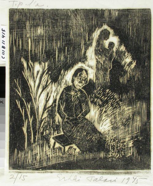 Pahenneet polvet, kuvitusta Kantelettaren kehtolauluihin