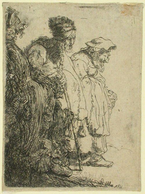 Kaksi kerjäläistä (B. 165)