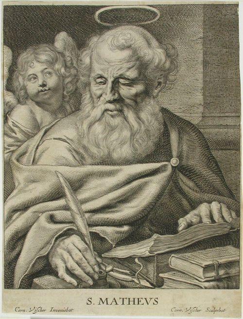 Pyhä Mattheus, kirjoittaen