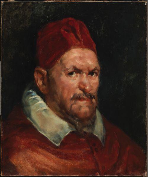Paavi Innocentius X, kopio Velasquezin mukaan