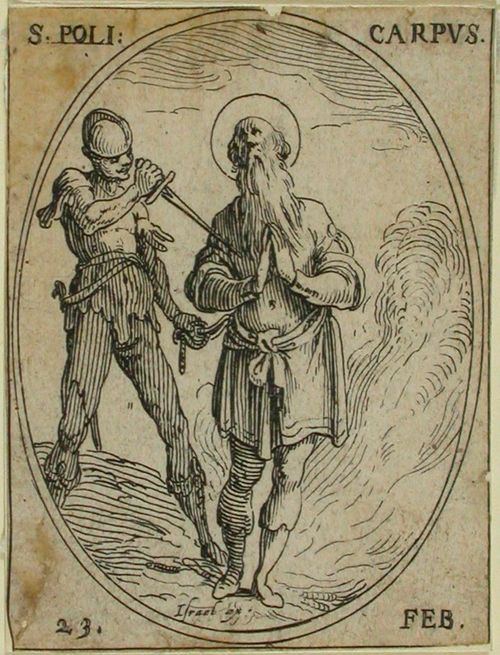 P. Polykarpus (65) / Pyhimyskalenteri (15 kuvaa 124 levyn ja 490 kuvan sarjasta)