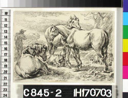 Kolme hevosta (Les Chevaux)