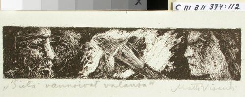 Kalevalan kuvitusta, XI runon loppuvignetti