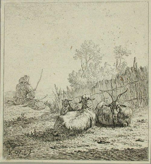 Vuohi ja kaksi lammasta