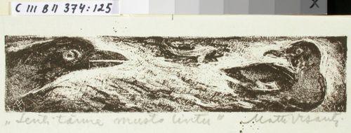 Kalevalan kuvitusta, XXIV runon loppuvignetti