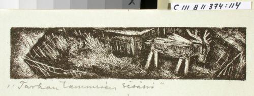 Kalevalan kuvitusta, XIII runon loppuvignetti